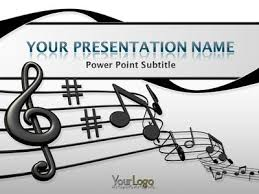 templates powerpoint free download music music powerpoint templates free download blue musical notes a