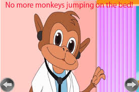 10 Monkeys Jumping On The Bed Kids Rhyme Five Little Monkey Android Apps On Google Play