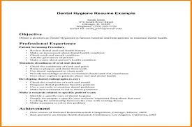 Dental Hygienist Resume Template Objective On A Resume Research Plan Example