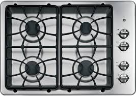 Cooktops Gas 30 Inch Ge Jgp329setss 30 Inch Gas Cooktop With 4 Sealed Burners 11 000