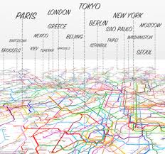 Tokyo Subway Map by Open Access Is Raising Money On Kickstarter In Map Combining