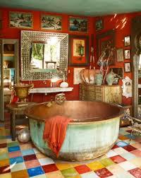 boho home decor boho chic orange living room ideas with boho home