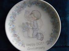 50th anniversary plates precious moments 50th anniversary plate ebay