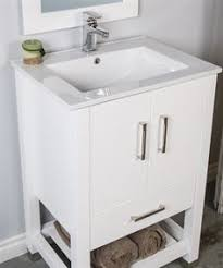 Modern Bathroom Cabinet by Modern And Simple 30 Inch White Bathroom Vanity With Drawers