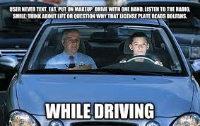 Text Driving Meme - livememe com driver s ed