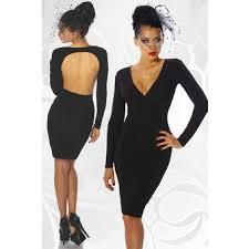 rã ckenfreie brautkleider kleid langarm schwarz in damenkleid kaufen sie zum günstigsten