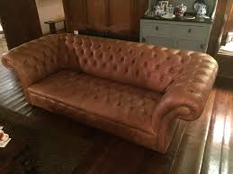 Leather Button Sofa Leather Sofa Second Household Furniture Buy And Sell In