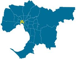 Councils Of Melbourne Map Melbourne Maps Planning Schemes
