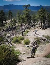 Buffalo Creek Trail Map Blackjack Raspberry Ridge Mountain Bike Trail In Pine Colorado