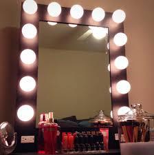 Mirror With Lights Around It Vanity Mirrors Uk Vanity Decoration