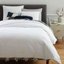 organic half moon duvet cover shams platinum west elm