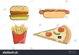 food vector clip art fast food vector stock vector 766979911 shutterstock
