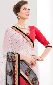 trendy blouses buy embroidered indian designer sarees pairing trendy blouses