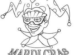 mardi gras color pages printable mardi gras coloring pages for