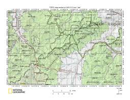 bitterroot mountains map east fork bitterroot river big river drainage divide area