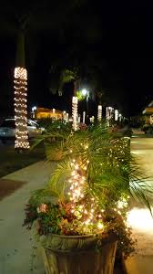 landscape lighting south florida the unpaved road a florida snowstorm at the christmas on third