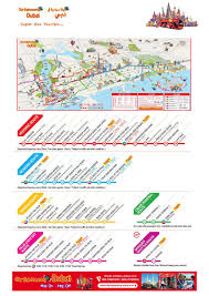 Hop On Hop Off Los Angeles Route Map by Dubai City Sightseeing Bus Pass Klook