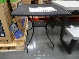 costco dining room tables pacific casual micro mesh bistro table