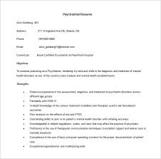 doctor resume template u2013 16 free word excel pdf format download