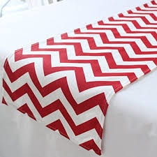 valentines day table runner chevron s day table runner 12x60 inches