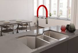 restaurant style kitchen faucet luring buyers with on trend kitchen products professional builder