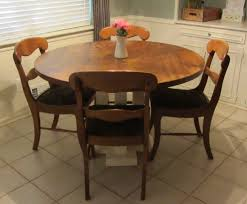 round farmhouse dining table and chairs 36 kitchen table kitchen and decor