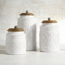 kitchen canister canisters cookie jars pier 1 imports