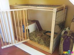 Indoor Hutches Picture 20121215 095727 Diy Rabbit Hutch Ready For Cleo 20121212