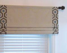 Curtain Rod Roman Shades - this listing is for one faux roman shade in your choice of width