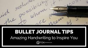 bullet journal tips amazing handwriting to inspire you tck