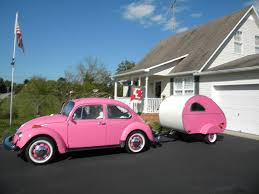 volkswagen camper pink the world u0027s best photos of teardrop and vw flickr hive mind