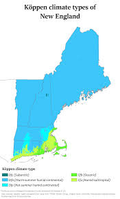 New England Weather Map by Climate Of New England Wikipedia