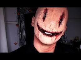 creepy smiley face mask halloween youtube