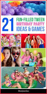 tween halloween party activities 25 best birthday parties ideas on pinterest sleepover