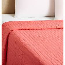 Camp Bedding Base Camp Quilt Coral
