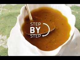 simple delicious turkey gravy with alton brown from
