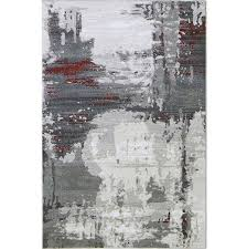 Modern Rugs Chicago Abstract Gray Rug With Stripes Abstract Rug Cozy Rugs