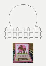 image result for kirigami templates free download pop up cards
