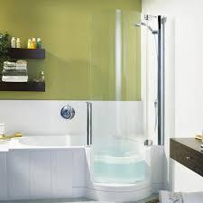 the brilliant walk in bathtub shower combo clubnoma