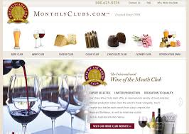 monthly clubs international wine of the month club monthlyclubs company