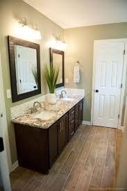 bathroom white shower curtain mirror bathroom decor wooden