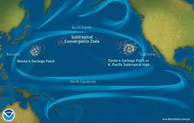 Space Debris Map Great Pacific Garbage Patch Or U0026r U0027s Marine Debris Program