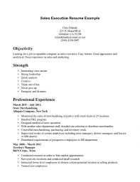 District Manager Resume Examples by Resume Sales Executive Resume Examples