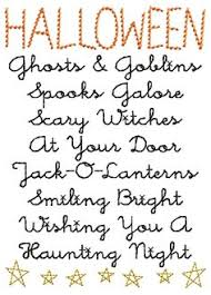 halloween poem trick or treat halloween pinterest