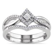Black Diamond Wedding Ring Sets by Princess Bridal Jewelry Sets Shop The Best Wedding Ring Sets