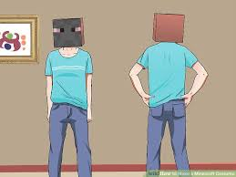 minecraft steve costume how to make a minecraft costume with pictures wikihow