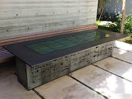 tables ernsdorf design concrete fire pit bowls furniture and art