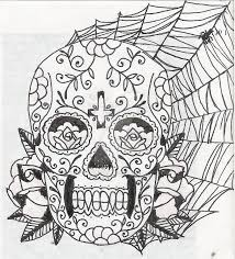 day of the dead mask by lov3 m3tal on deviantart