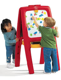 Step 2 Desk Easel Go Kids Play Parent U0027s Top Rated Chalkboards And Activity Easels