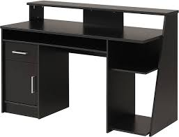 Wooden Corner Computer Desks For Home Impressive Black Wood Computer Desk Brilliant Computer Desk Black